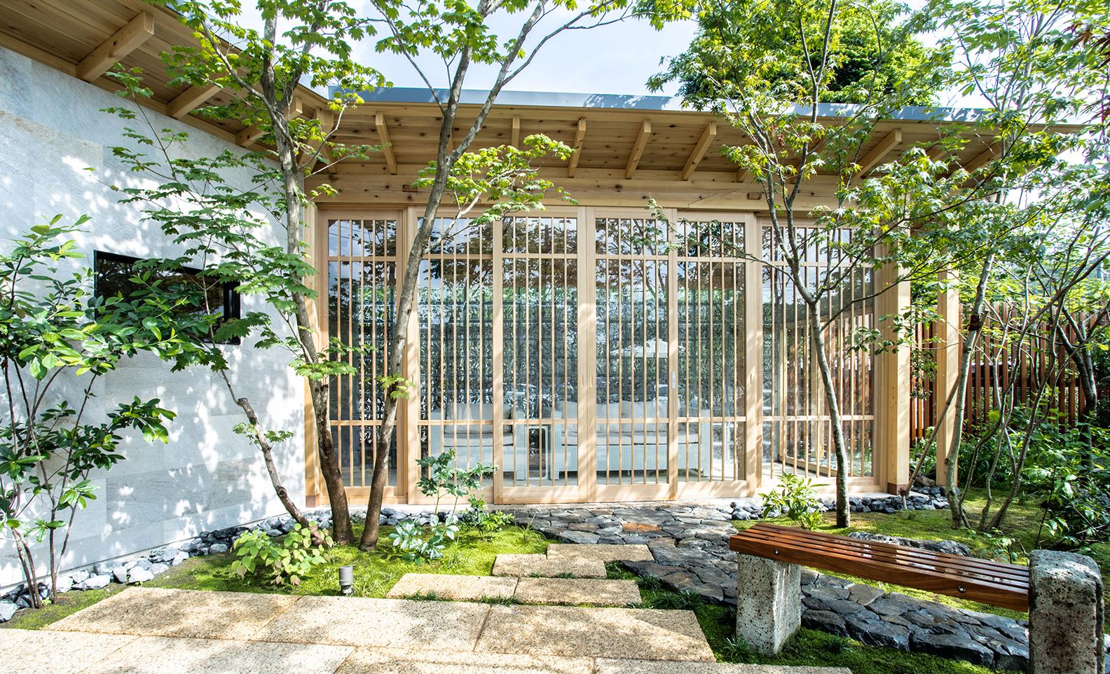 東京都あきる野市、庭園デザイン